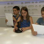 A Rádió-, és TV Történeti Kiállítótérben jártunk